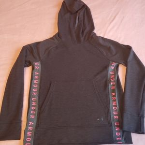 XS Loose Under Armour hoodie - like new